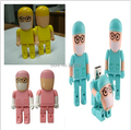 New Cartoon Surgery doctor model usb 2.0 memory flash stick pendrive genuine 4gb/8gb/16gb/32gb