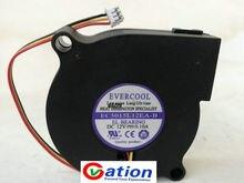 Wentylator chłodnicy wentylatora dla EVERCOOL EC5015L12EA-B 12 V 0.10A 5 CM 5015 nawilżacz cichy wentylator chłodzący