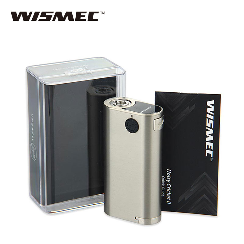 Original WISMEC Noisy Cricket II-25 Box MOD VS Noisy Cricket 18650 MOD VS WISMEC Noisy Cricket II-22 MOD No 18650 Battery Mod cricket training in indian universities page 4