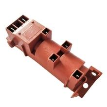 Газовый водонагреватель переменного тока 220 в четыре розетки импульсный воспламенитель плита газовый воспламенитель Запчасти 2 шт