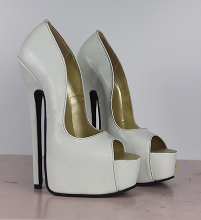 7 inch platform high heel stilettos thongs 6