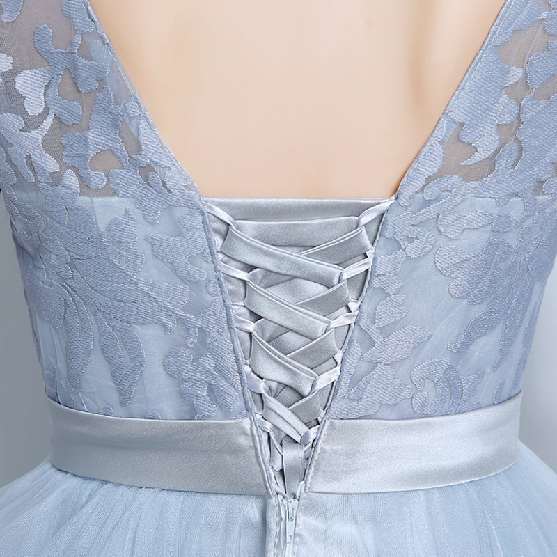 5a10660150 WB661 Semi Formal Homecoming Dress Half Sleeve Grey 8th Grade Graduation  Prom Gown Fitted Tight Short Homecoming Dresses-in Homecoming Dresses from  Weddings ...