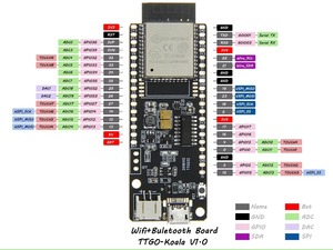 Image 5 - LILYGO®TTGO t koala ESP32 WiFi et Module Bluetooth 4 mo carte de développement basée sur ESP32 WROVER B ESP32 WROOM 32