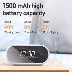 Image 5 - Baseus E09 altoparlante Bluetooth portatile con sveglia altoparlante Wireless musica Surround altoparlante per telefono PC Computer