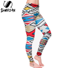 SLMVIAN new arrival Novelty 3D printed fashion Women leggings space galaxy leggins tie dye fitness pant