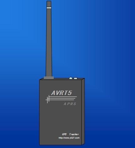 AVRT5 APRS Tracker VHF avec GPS/Bluetooth/Thermomètre/TF Support de la Carte APRSdroid