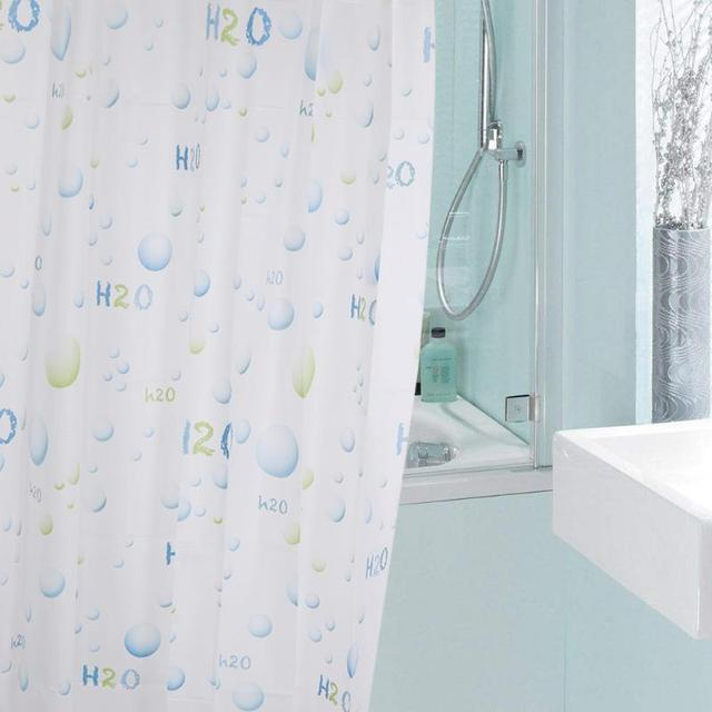 Waterproof Bathroom Shower Curtain Modern Bath Home Moldproof Decor Eco Friendly Washable