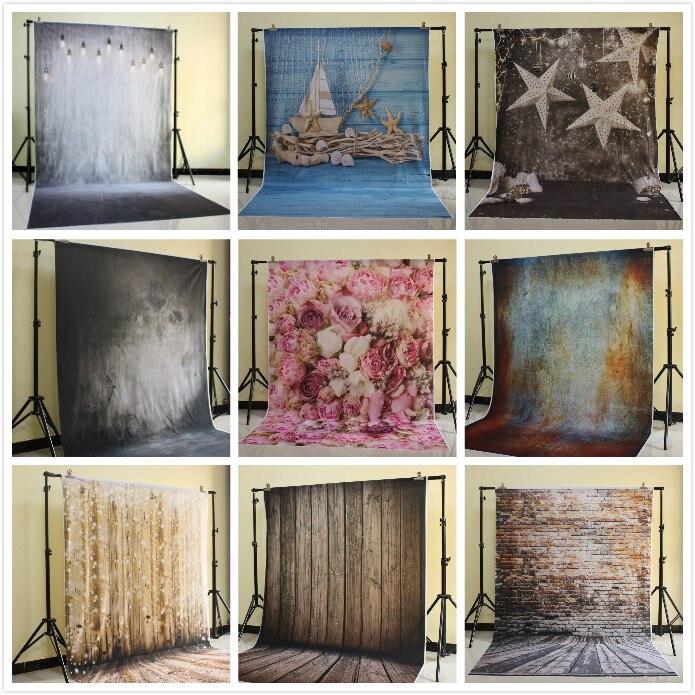 Photography Backdrops digital printed vinyl photo background Distressed Interiors Warehouse studio photoshoot backdrop D-1734