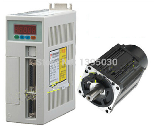 1Set High Quality 60ST-M01930 AC Servo Motor 1.91N.M 600W 3000RPM 60ST with Driver System цена