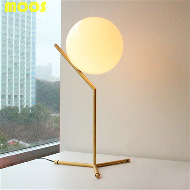 Nordic simple creative milk white round glass ball table lamps bar nordic simple creative milk white round glass ball table lamps bar living room bed room learning aloadofball Image collections