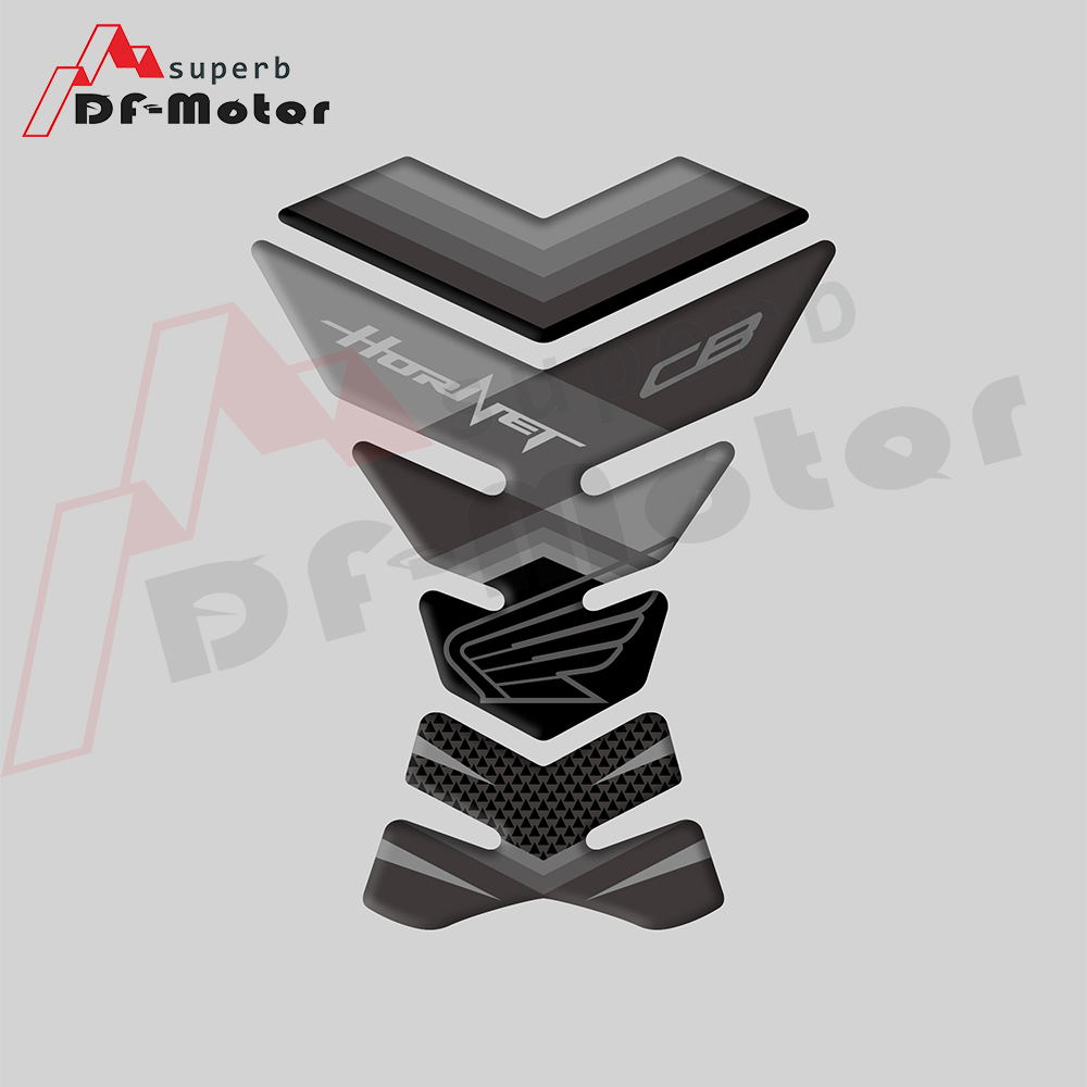 Motorcycle TANK PROTECTOR Gas Cap Pad Filler Protector Sticker Decal For Honda HORNET CB 919 599