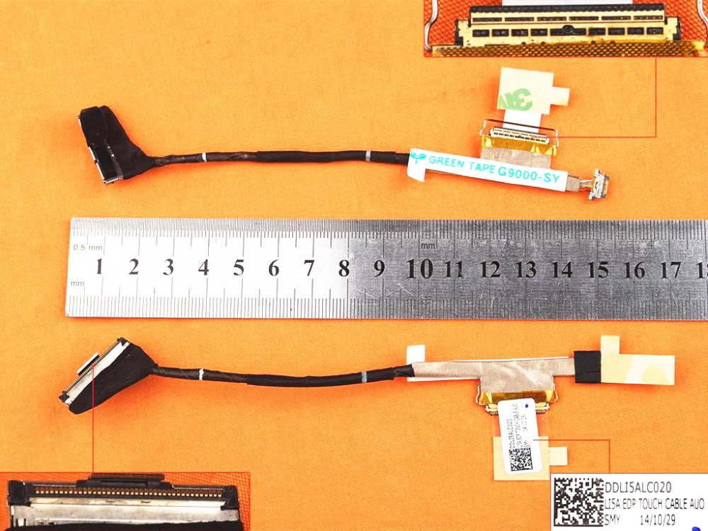 Computer Cables & Connectors New Original Lcd Cable For Lenovo For Thinkpad Yoga 11e With Touch 40pin Pn Ddli5alc020 0hw232 Notebook Led Lvds