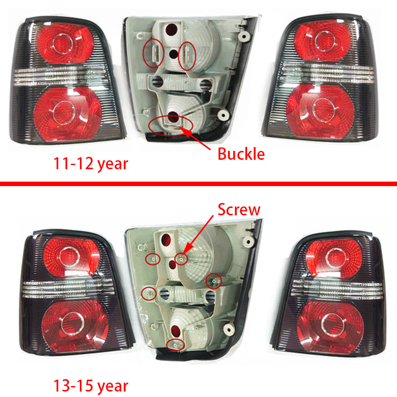 5ta945307b DEL Feu Arrière Queue Lumière Lanterne rouge à Gauche Intérieur VW Touran II 5 T
