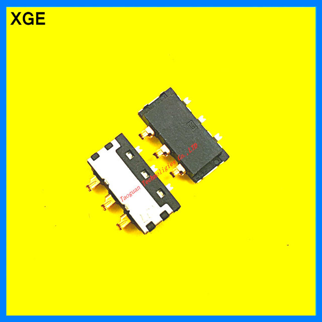 2pcs/lot XGE Inner Battery Connector Clip Contact replacement for THL T200 W8 top quality