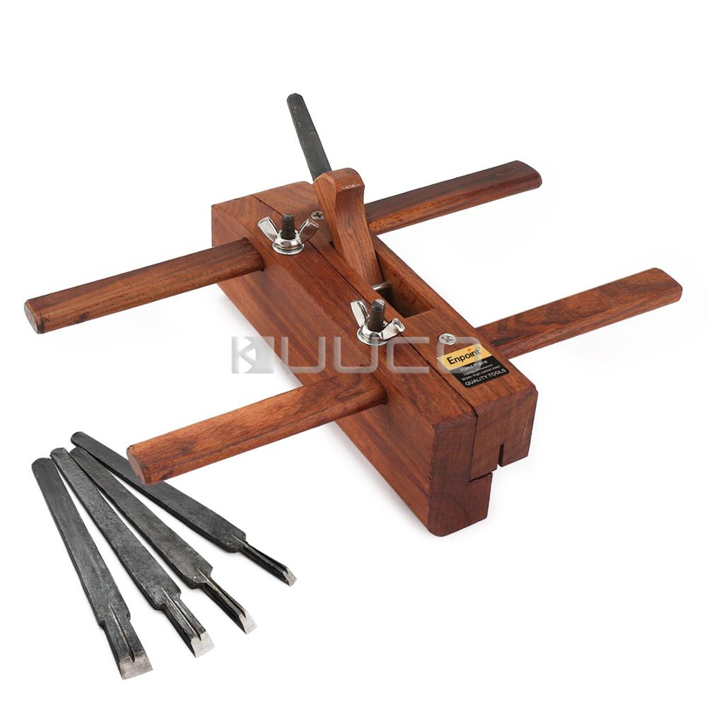 Hand Wood Planer Professional Woodworking Tools DIY Hand Plane Slot Grooving For Furniture/Music Instrument Or Models Etc