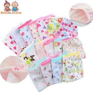 Girls Underwear Chirdren Briefs 100%Cotton Tnn0001 24pieces/Lot