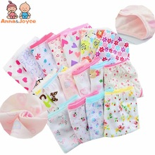 (12 pieces/lot) 100% cotton Girls underwear chirdren briefs girls panties  kids underwear tnn0001
