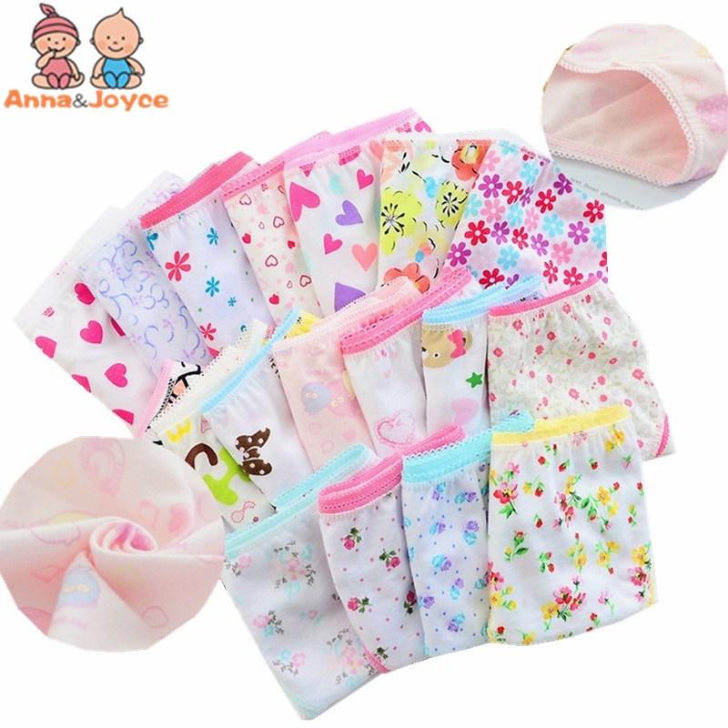 Нижнее белье для девочек из 100% хлопка (24 шт./лот), детские трусы, нижнее белье для девочек, tnn0001