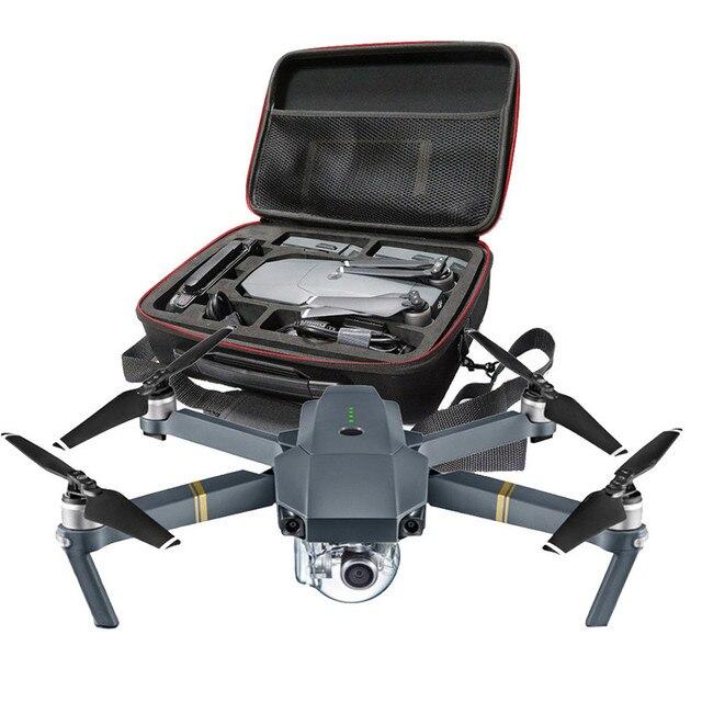 Высокое Качество Hardshell Плечо Водонепроницаемый ящик Чемодан сумка для DJI Mavic Pro RC Quadcopter Игрушки Оптовая Бесплатная Доставка