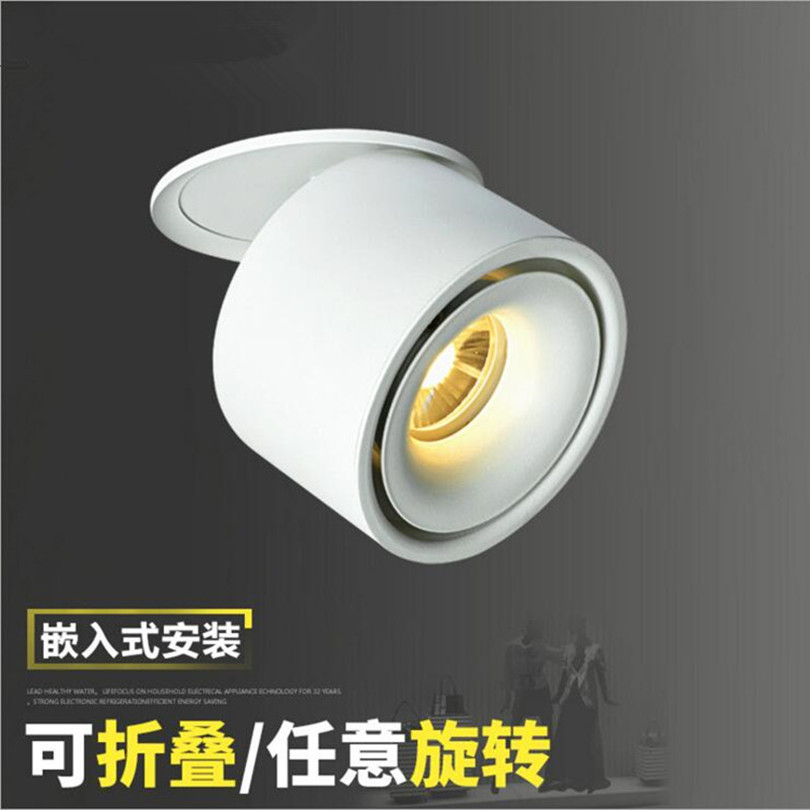 20w Led Surface Mounted: 6pcs Dimmable Downlights 15W 20W COB LED Recessed Ceiling