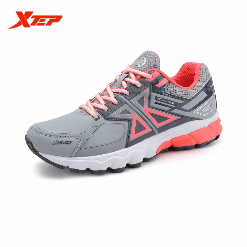 ФОТО XTEP Brand Profession Running Shoes 2016 Women Sports Shoes Damping Cushioning Athletic Trainning Trail Sneakers 984418119023