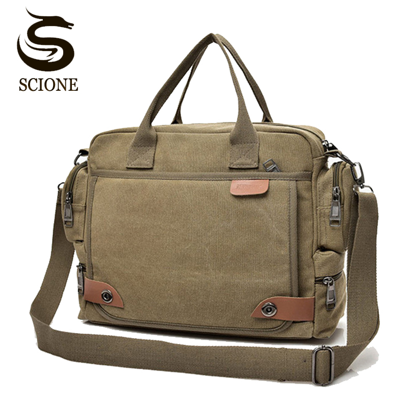 Vintage Men's Messenger Bags Crossbody Canvas Shoulder Bag Fashion Men Business Bag for Male Female Womens Duffel Travel Handbag high quality men canvas bag vintage designer men crossbody bags small travel messenger bag 2016 male multifunction business bag