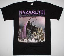 NAZARETH HAIR OF THE DOG HARD ROCK DEEP PURPLE URIAH HEEP NEW BLACK T-SHIRT O Neck Shirt Plus Size T