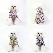 Pet Raincoat Dog Rain Coat Clothes Puppy Casual Waterproof Jacket Costumes RainCoat For Four-legged