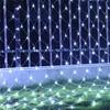 Thrisdar 2x2m 3x2m 6x4m LED Net Mesh Fairy String Light Christmas Tree-wrap Lights Outdoor Wedding Party Curtain Garland Light discount