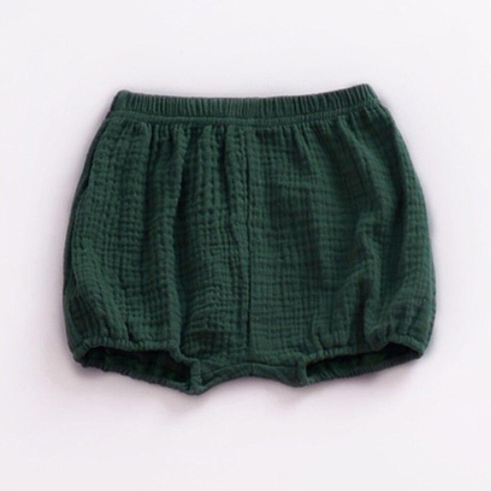 2020 novo verão crianças da criança do bebê praia calças curtas de linho algodão casual fundo pp bloomer fralda capa