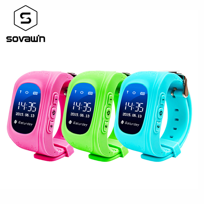 <font><b>GPS</b></font> Tracker Children Baby <font><b>Q50</b></font> Smartwatch for Kids SIM OLED Screen SOS Emergency Passomete Smart Watch Anti-Lost Remote Monitor image