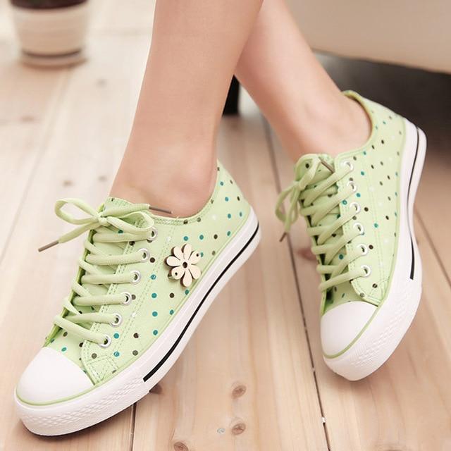 Fashion women sneakers sport shoes sweet print teenager girl canvas shoes sapatilha tenis feminino zapatillas deportivas 2015