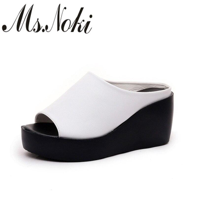 platform sandals women wedges slippers shoe woman 2016 peep toe heels summer shoes slippers high heel sandals sexy ladies shoes