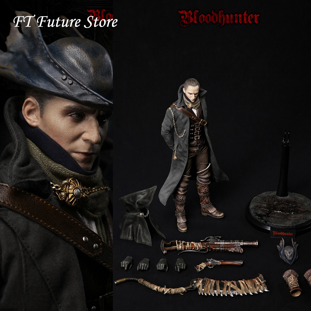 VM-024 In Stock For Collection 1/6 VM024 Blood Hunter Head Body Weapon Accessory Full Set Action Figure Model For Fans Gifts