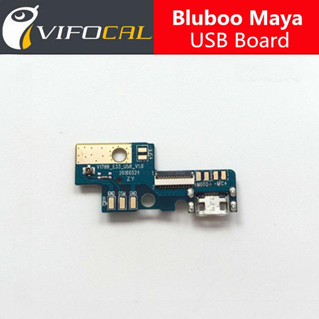 Bluboo Maya Placa USB 100% Novo usb original bordo carga plugue Acessório de substituição de reparo para o Telefone Móvel + Em estado de choque