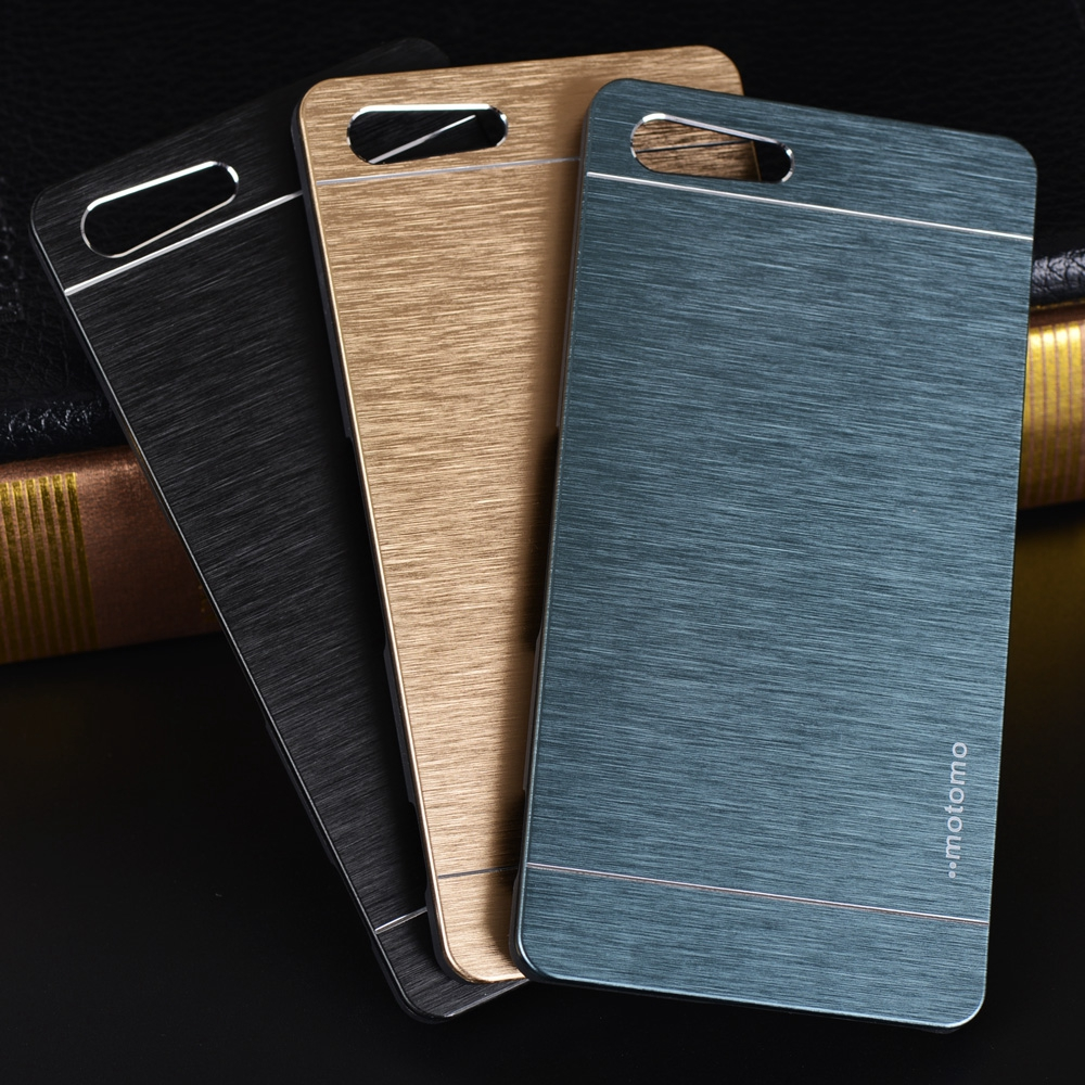 Best Accessory Aluminum Case For Sony Xperia M5 Case Luxury Motomo Metal Brush Hard Case For Coque Sony Xperia M5 Dual Back Cover Phone Cases