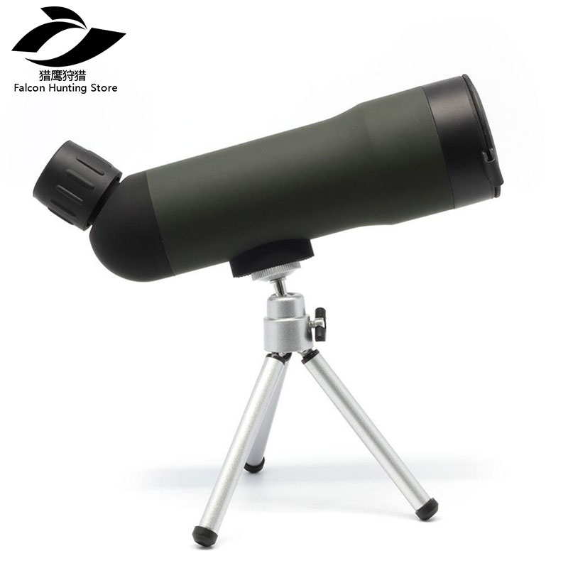 Outdoor Hiking Travel camp <font><b>20X50</b></font> <font><b>Monocular</b></font> Telescope Prism <font><b>Monocular</b></font> Telescopes with Tripod image