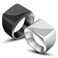 Fashion Men S Ring 316L Stainless Steel Ring For Men Men S Jewelry Polished Stainless Steel