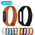 Xiaomi Mi Band 2 Bracelet Strap Silicone Miband 2 Colorful Strap Wristband Replacement Smart Band Accessories For Mi Band 2