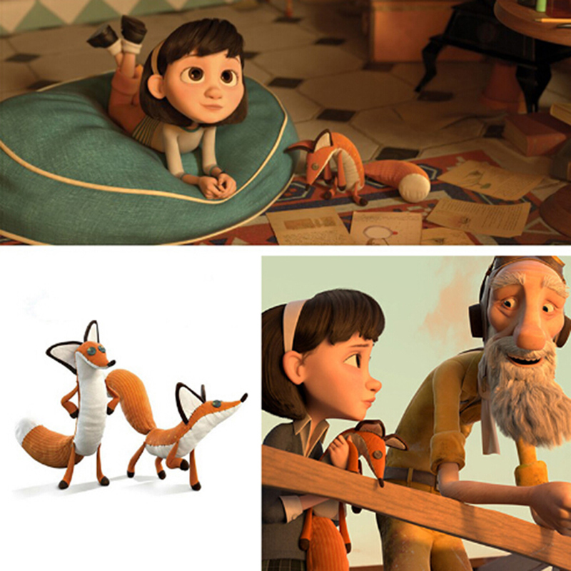 45cm Soft Plush Foxes Dolls Stuffed Plush Animal Toys For Children Kids Cute Baby Bedding Popular Toys