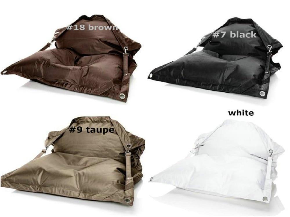2016 RAMAK Rushed Bolsa Leather Sofa ,The Original Outdoor And Indoor Buggle Up Bean Bags,Large Pillow Beanbag Cushion Furniture