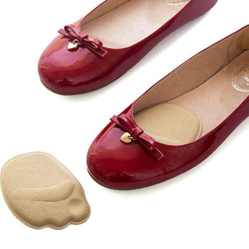 الأمامية نعل أحذية منصات عالية الكعب نعل لينة المضادة للانزلاق حماية القدم وسائد القدم الإسفنج لتخفيف الآلام النساء العناية بالقدم