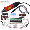 220V Dremel Style Mini Drill 180W Electric Hand Drill Power Tools Variable Speed 32000rpm With 100pcs