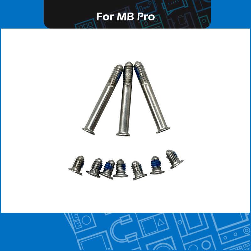 """Nieuw Voor Macbook Pro 13 """"15"""" 17 """"A1278 A1286 A1297 bottom case schroeven set + schroevendraaier + bodem rubber voeten kit 2010-2012"""
