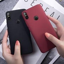 Simple Slim Matte Sandstone TPU Soft Case For Xiaomi Mi 8 9 se 6 8lite a1 a2 not