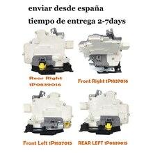 Передний Задний левый правый для VW MK5 EOS для SEAT Leon ALTEA TOLEDO 1P Zv привод дверного замка 1P1837015 1P1837016 1P0839015 1P0839016