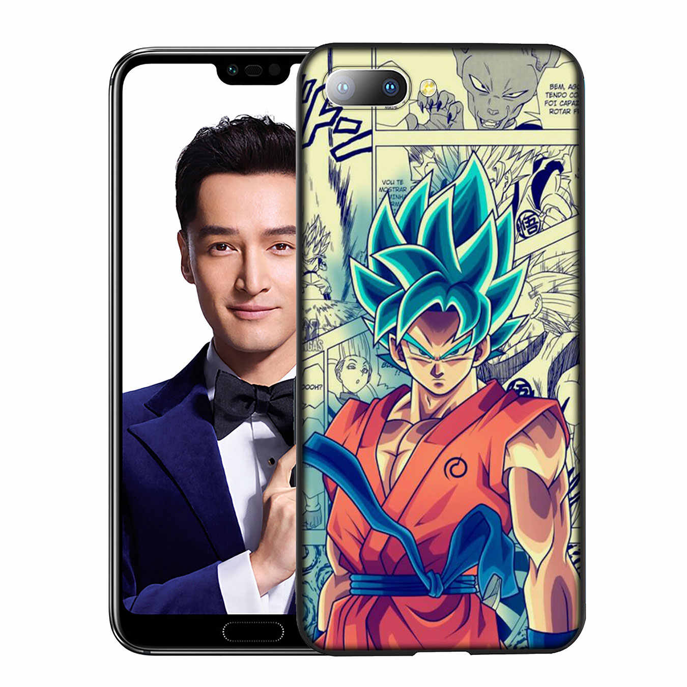 YIMAOC dragon topu Z DBZ Goku Yumuşak silikon kılıf için Huawei Y9 Y7 Y6 Başbakan 2019 Onur 20 8C 8X8 9 9X10 Lite 7C 7X 7A Pro Kapak