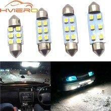 Biała kopuła światła festynowe C5w C10W samochodów Led światła obrysowe lampa bagażnika 31MM 36MM 39MM Auto drzwi Led żarówka do czytania schowek na rękawiczki lampa