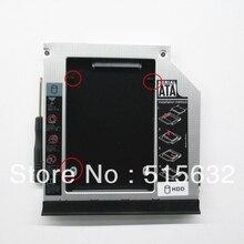 Стиль SATA 2nd жесткий диск SSD карман для жесткого диска для Dell E6420 E6520 E6430 E6530 с толкатель пресс-формы