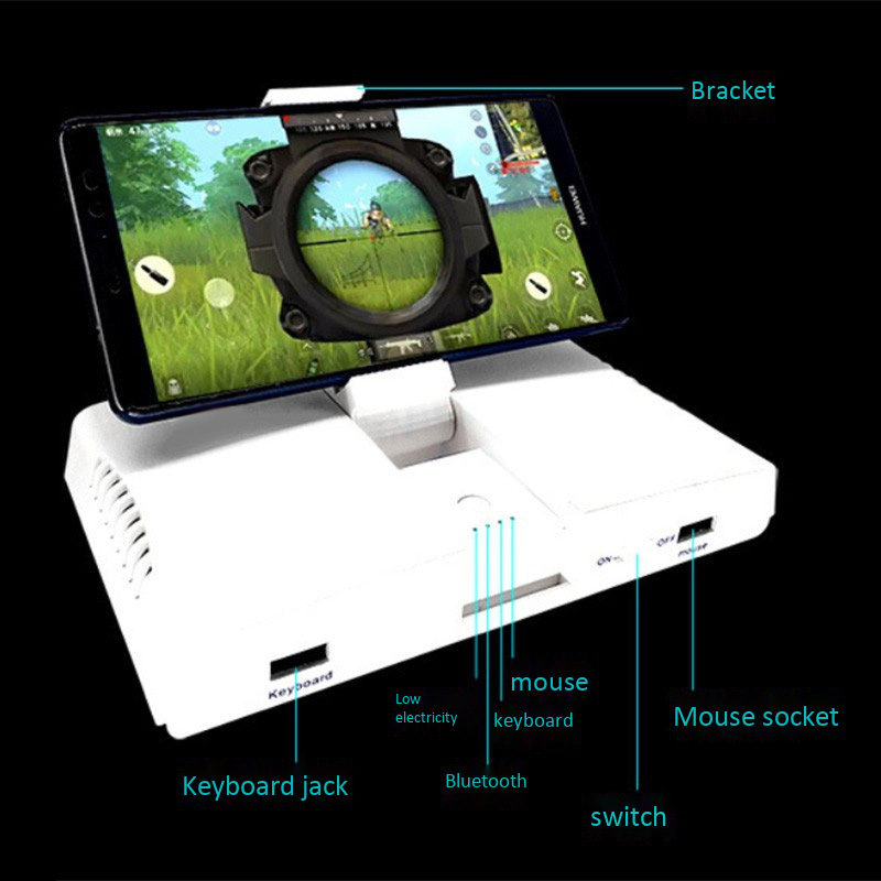 Image 3 - Powkiddy Bluetooth Battledock Converter Stand Charging Docking For FPS Games, Using With Keyboard And Mouse, Game Controller-in Gamepads from Consumer Electronics
